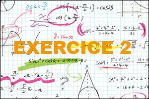 Corrigé exercice 2 BAC STG CGRH maths